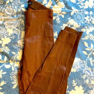 POLO Ralph Lauren Brown Leather Legging size Small